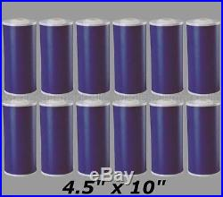 10 Big Blue (GAC) Carbon Replacement Water Filters 12 Whole House Cartridges