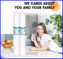 1/5/10/20 Micron 20 x 2.5 Whole House Sediment Water Filter Cartridge 48 Pack