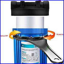 20Pcs 5 Micron 20x4.5 Big Blue Sediment Water Filter Whole House for RO System