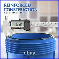 20 Big Blue Whole House Water Filter Housings Spin Down Sediment Water Filters