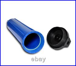20 Ice Machine Water Filter Softener System 3 Blue Housing High Quality, 1