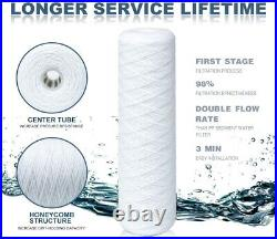 20 Micron 20 x 4.5 Big Blue Whole House String Wound PP Sediment Water Filter