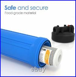 20x4.5 Big Blue Water Filter Housing 1 Whole House RO for Water Vending Machine