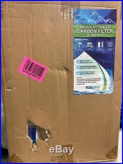 25pcs Big Blue CTO Carbon Block Water Filters 4.5 x 20 Whole House Cartridges