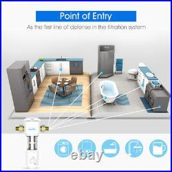 2 Set 204.5 Big Blue Filter Housing+ Reusable Spin Down Sediment Water Filter