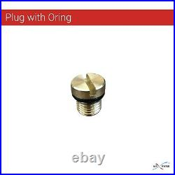 2 x 20 x4.5 BB Clear Whole House Filter Housing 1 Ports With Pressure Release