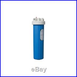 3M Aqua-Pure Whole House Large Diameter Water Filter Blue Plastic Housing