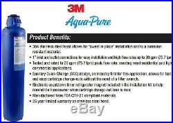3M Aqua-Pure Whole House Replacement Water Filter Model AP917HD-S