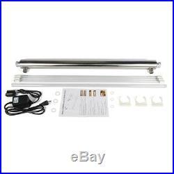 3/4 Inlet Ultraviolet Light Water Purifier Whole House UV Sterilizer 55w 12GPM