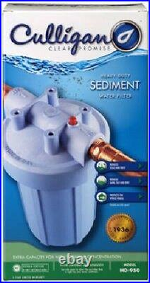 (3) Culligan Hd-950a 1 Jumbo Hd Whole House Sediment Water Filter