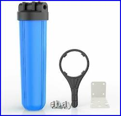 3 Pack 20x 4.5 Big Blue Water Filter Housing Whole House 1 Outlet/Inlet Class