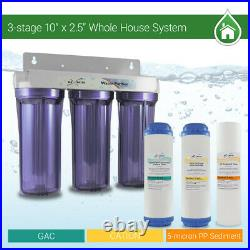 3 Stage 10 Whole house water Softening Filter, softener, reduce remove hardness