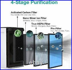 4pcs 10 x 2.5 CTO Carbon Block Sediment Replacement Water Filter Cartridges US
