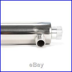 55W 12GPM Ultraviolet Light Water Purifier Whole House Sterilizer 3 UV Bulbs USA