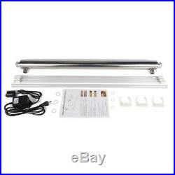55W Ultraviolet Light Water Purifier Whole House Sterilizer UV Lamp WITH 3 Bulbs