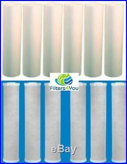 6 Big Blue 20 x 4.5 CTO Carbon Block Filters 6 Big Blue 20 x 4.5 Sediments