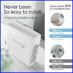 7 Stage Reverse Osmosis Water Filtration System, NSF Certified, by Waterdrop