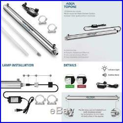 80LPM Ultraviolet Sterilizer Whole House Water Filter System UV -55W