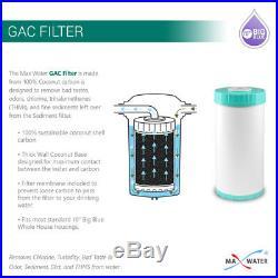 8 Big Blue Water Filters GAC Carbon & Sediment 4.5 x 10 Whole House Cartridges