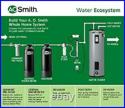 AO Smith Whole House Water Filter System, Carbon Filtration Reduces 97% of Chlori