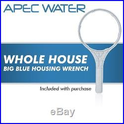 APEC 20 Big Blue Whole House Water Filtration System With Sediment Filter