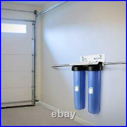 APEC 2-Stage Whole House Water Filter System with 2-Stage Sediment+Carbon