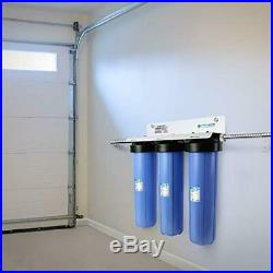 APEC 3-Stage Whole House Water Filter System with Sediment, GAC Carbon and Carbo