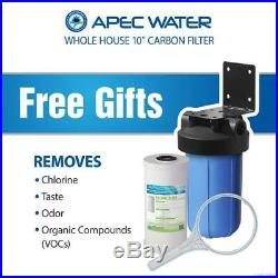 APEC Premium 10 GPM Whole House Salt-Free Water Softener System Pre-Filter