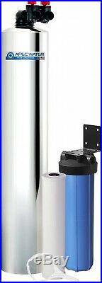 APEC Water Systems Premium 10 GPM Whole House Salt-Free Water Softener System
