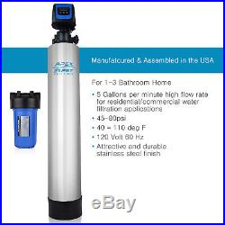 APEX WH-1010 Chloramine Heavy Metal Remove Whole House Water Filter + Pre Filter