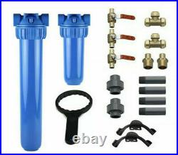 AQUASANA PROFESSIONAL GRADE INSTALL KIT Water Filter Kit Only Eq1000 Whole House