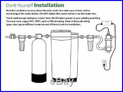 A. O. Smith Single-Stage 7-GPM GAC Whole House Central Water Filter System