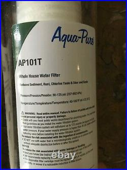 Aqua-Pure AP101T Whole House Transparent Water Filter (2-pack)