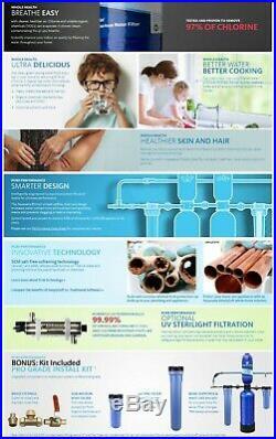Aquasana 10-Year 1000000 Gal Whole House Water Filter + Salt-Free Softener + PIK
