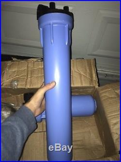Aquasana 10-Year, 1,000,000 Gallon Whole House Water Filter Installation Kit