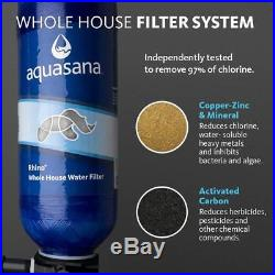 Aquasana 10-Year, 1,000,000 Gallon Whole House Water Filter with Salt-Free