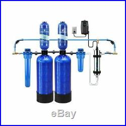 Aquasana 400k Gallon Whole House Water Filter, Salt-Free Softener and UV Filter