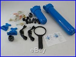 Aquasana EQ-1000-AMZN Whole House Water Filter Pro Install Kit