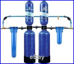 Aquasana EQ-1000 Whole House Water Filter System with Salt-Free Conditioner