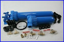 Aquasana EQ-1000 Whole House Water Filtration System Blue MISSING FILTER TANK