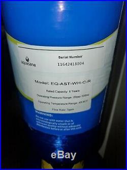 Aquasana EQ-AST-WH-CR Whole House Water Filter 6 year 600k