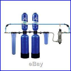 Aquasana Rhino 6-Year 600k Gallon Whole House Water Filter Salt-Free Softener+UV