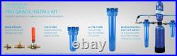 Aquasana Rhino 6-Yr 600k Gal Whole House Water Filter-Pro Install Kit, filters