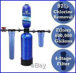 Aquasana Rhino Series 4-Stage 600,000 Gal Whole House Water Dispenser Filtration