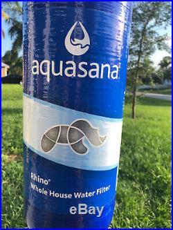 Aquasana Rhino Whole House Filter Replacement Tank 6YR 600,000 Gals EQ-600 New