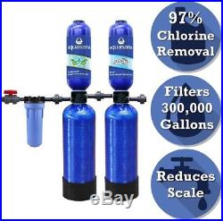 Aquasana Whole House Water Filter Chlorine Soft Salt-Free Water Softener