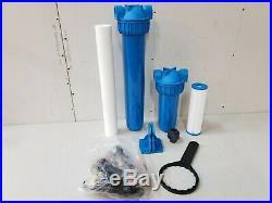 Aquasana Whole House Water Filter EQ-1000 Pro Install Kit New