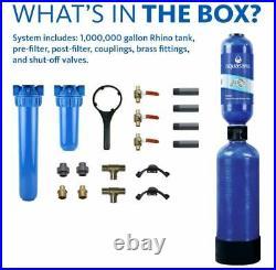 Aquasana Whole House Water Filter System Filters Sediment EQ1000 / 1ML G