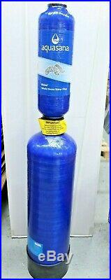 Aquasana Whole House Well Water Filter System Replacement Tank 5Year 500k GAL WH