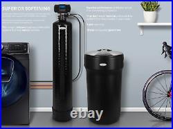 Aquasure Water Softener System Whole House Digital, 2-4 Bathrooms 64,000 Grains